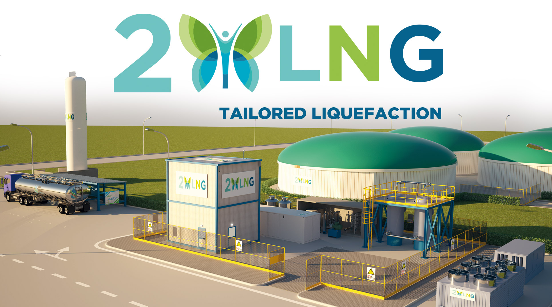 2LNG - turnkey solutions covering the entire LNG cycle